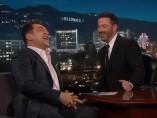 Javier Bardem a su paso por el programa de Jimmy Kimmel