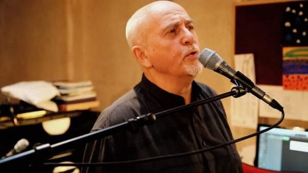 El cantautor británico Peter Gabriel