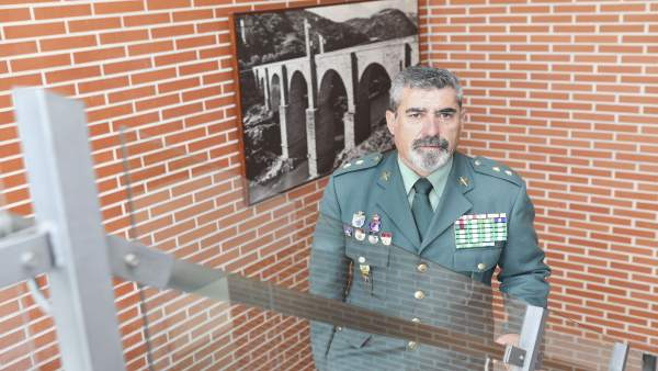 El teniente coronel Antonio Núñez Berrocal cesa en el mando de la Comandancia de