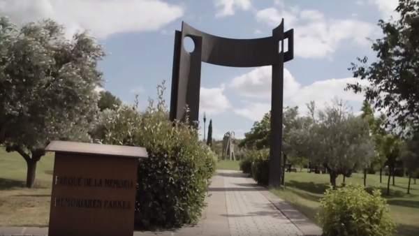 Parque de la Memoria en Sartaguda