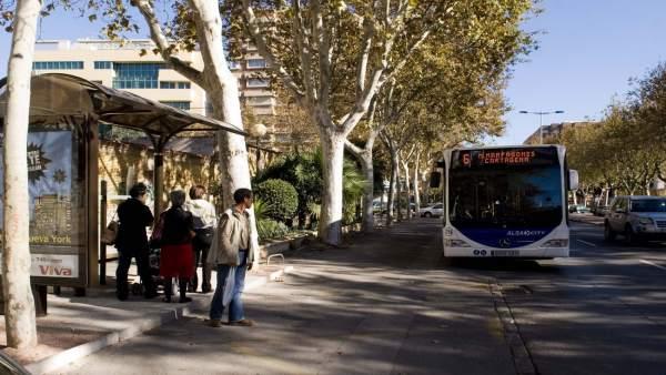 Varías líneas de transporte urbano cambiarán sus recorridos este sábado con moti