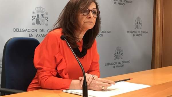 Presentación del balance de la Delegación del Gobierno en Aragón bajo la Preside
