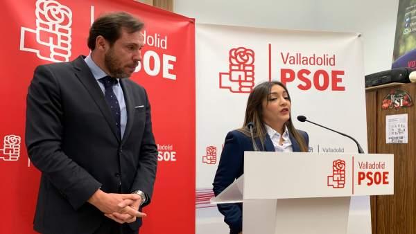 Presentación de la nueva integrante de la lista electoral del PSOE