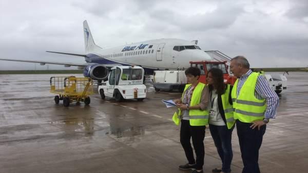 L'aeroport de Castelló pretén captar fins a tres noves connexions per a un període de tres anys
