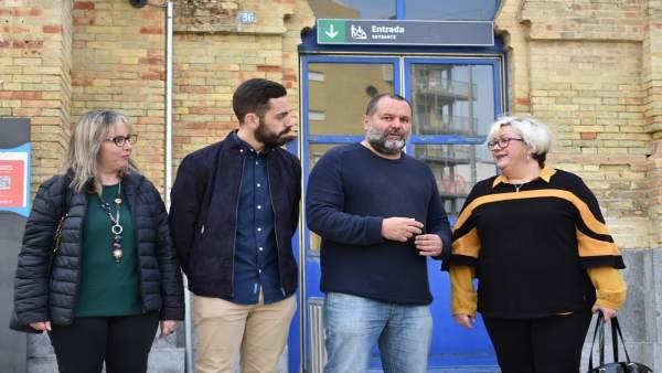 IU pide declarar BIC la vieja estación de Huelva para evitar que sea 'otro edifi
