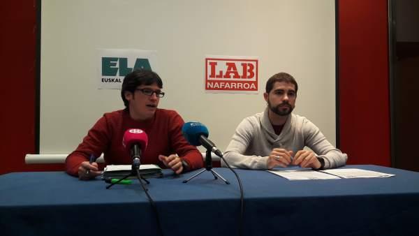 ELA y LAB critican el rechazo de firmar un acuerdo interprofesional