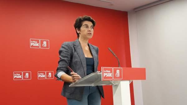 Nuria del Río secretaria ejecutiva coordinación territorial del PSOE