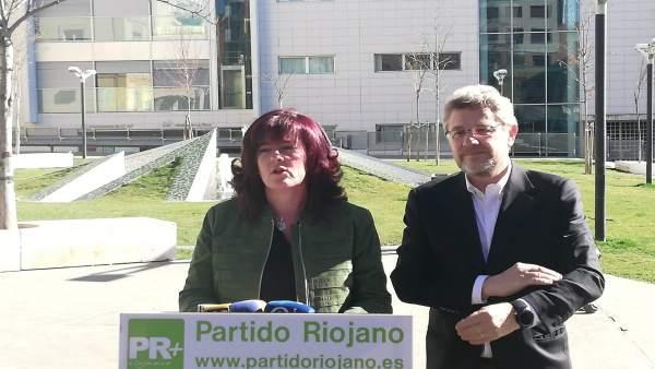 Presentación de la candidata a la Alcaldía de Arnedo por el PR+