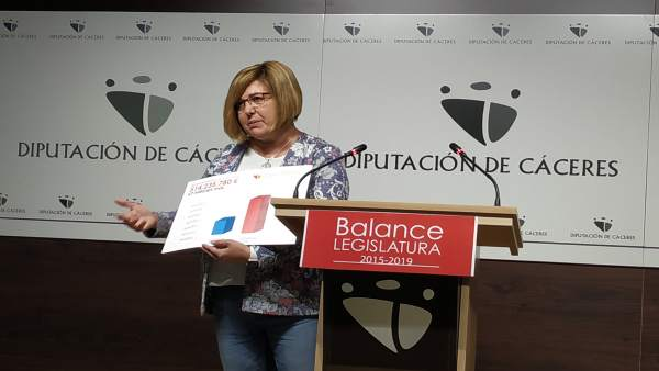 La Diputación de Cáceres distribuye 32 millones de euros de remanentes en invers