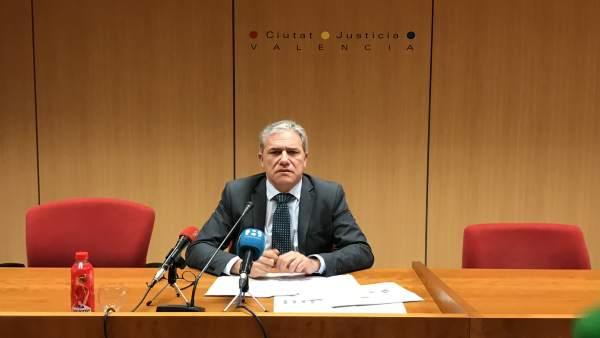 El juez decano de València ve necesarios 26 juzgados más y alerta del aumento de