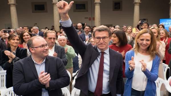 AV.- Feijóo, a los 10 años de su primera victoria, ensalza que el PP es 'útil' p
