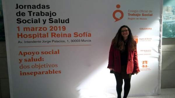 Lidia Vicente, trabajadora social del Equipo de Atención Psicosocial (EAPS) dura