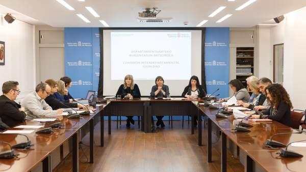 Los departamentos del Gobierno de Navarra presentan sus proyectos estratégicos e