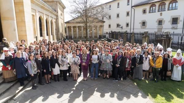 8M.- La III Asamblea De Mujeres Electas Vascas Anima A Secundar Las Movilizacion