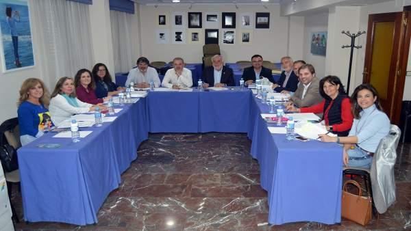 Reunión del jurado del Certamen de Investigación del Colegio de Enfermería de Ja