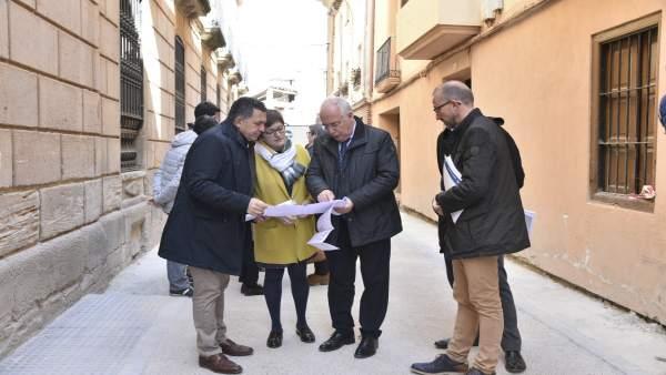 Ceniceros visita la adecuación de la zona húmeda carrizal de Cofín que garantiza