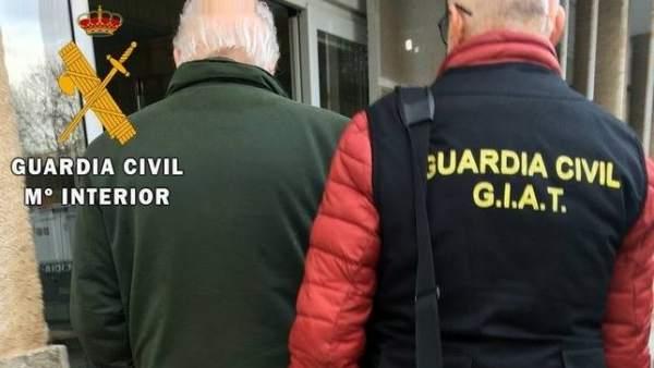 Detenido pederasta portugués en Badajoz