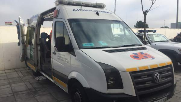 Ambulancia de EPES 061 en una imagen de archivo