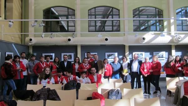 Alrededor de 60 voluntarios de Cruz Roja se reúnen en Logroño para 'analizar la