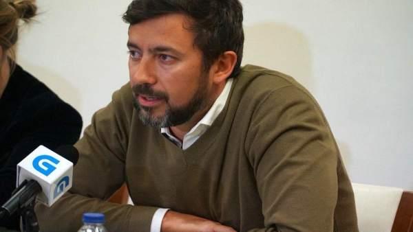 Antón Gómez-Reino, líder de Podemos Galicia y diputado de En Marea