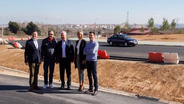Ceniceros asegura que la mejora de la LR-134 en Calahorra 'aumentará la segurida