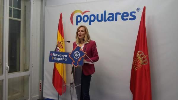 La presidenta del PPN, Ana Beltrán