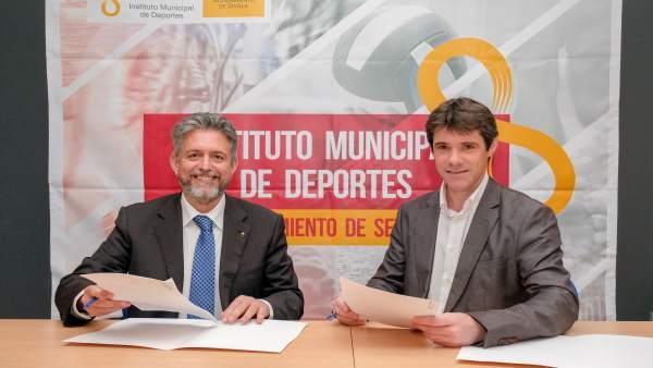 Juan Manuel Nieblas y David Guevara en una imagen de archivo
