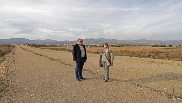Arrancan este lunes las obras para finalizar el segundo puente de Huétor Tájar