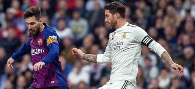 Sergio Ramos y Leo Messi.