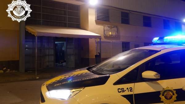 La Policía Local de Castellón detiene a dos hombres por agresiones