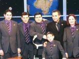 Junto al equipo de 'Crónicas Marcianas'
