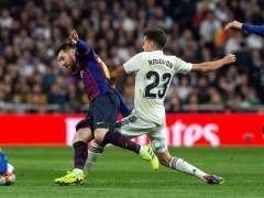 Reguilón y Messi