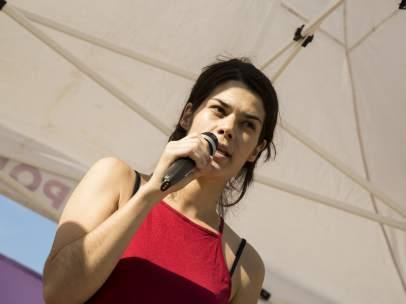 Isa Serra es diputada en la Asamblea de Madrid.