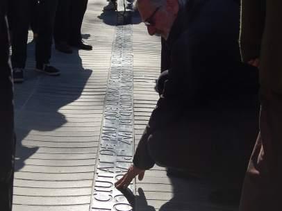 Memorial en la Rambla