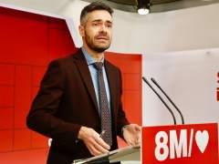 El portavoz adjunto del comité electoral del PSOE, Felipe Sicilia.
