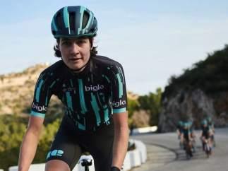 La ciclista Nicole Hanselmann