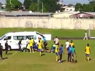 Hermann Tsinga Leyigui fallece en un partido de la liga de Gabón