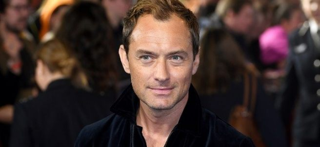 El actor Jude Law.