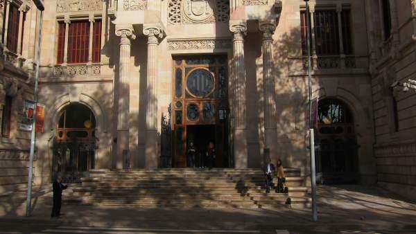 Palau de Justícia, sede del TSJC y de la Audiencia de Barcelona