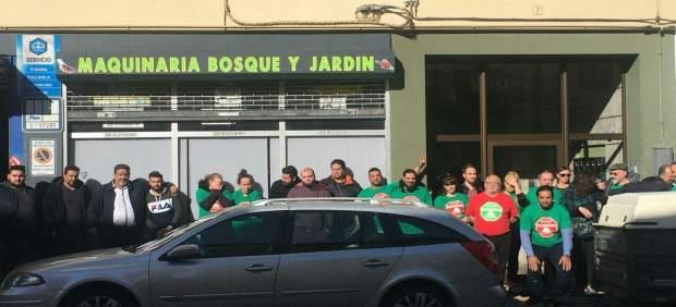 Paralización de un desahucio en Solares (Medio Cudeyo), Cantabria
