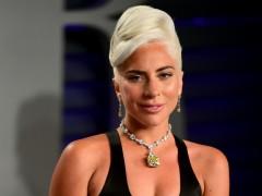 Lady Gaga con su Oscar