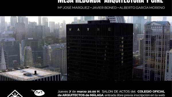 El Colegio De Arquitectos Y Maf Celebran La Jornada 'Arquitectura Y Cine'