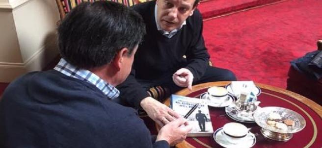 El espía Mikel Lejarza 'El Lobo' y el periodista Fernando Rueda