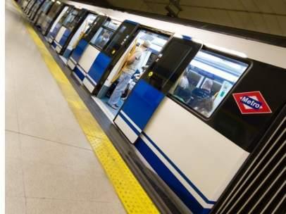 El servicio de Metro solo está garantizado al 35% en las horas valle.