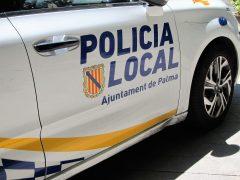 Un coche de la Policía Local de Palma