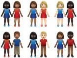 Los nuevos 'emojis' de parejas
