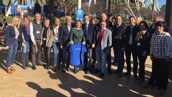 Pablo Casado elige Castellón y Vila-real para dar comienzo a la campaña nacional