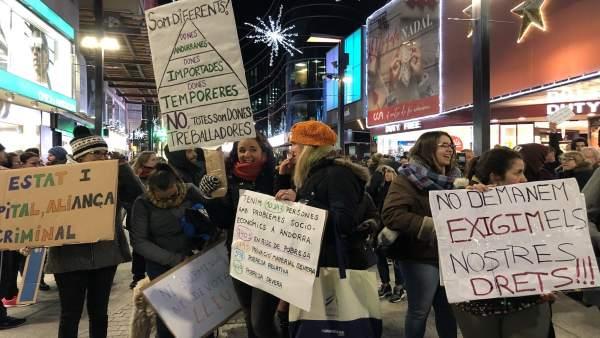 8M.- Asociaciones Feministas De Andorra Convocan Una Manifestación Para Reivindi