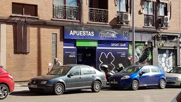 Sala de apuestas en Madrid