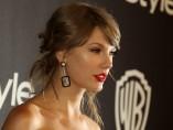 Taylor Swift  en la after party de los 'Golden Globes'